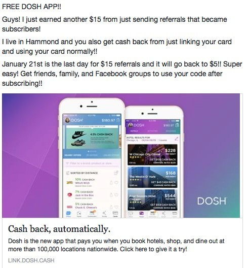 Is dosh legit?