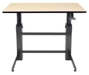 Ergotron WorkFit-D Sit Stand Desk