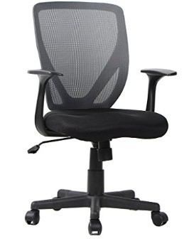 High Back Mesh Office Swivel Chair Executive Ergonomic Black For Computer Desk