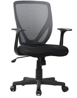 High Back Mesh Office Swivel Chair Executive Ergonomic Black For Computer Desk