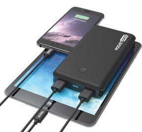 Pocket Juice Portable Charger 6X Extra Charges 12000 mAh Dual USB High Speed
