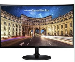 Samsung 24' Curved LED Monitor Full HD 1920x1080
