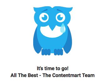 Contentmart is retiring