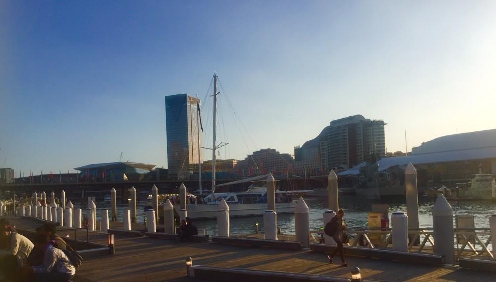 Darling Harbour pier