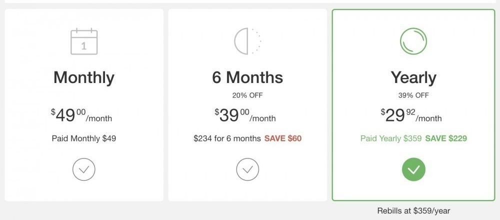 Wealthy Affiliate premium pricing options