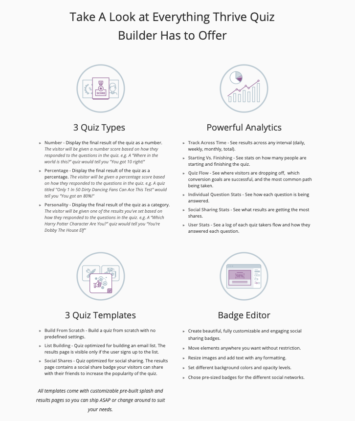 Thrive Quiz Builder - what it is 1